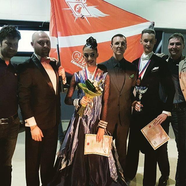 Команда Чемпионов России #никитаияна #тскспартакъ